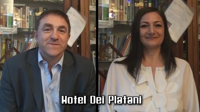 Hotel dei Platani: intervista doppia con Annarita e Daniele