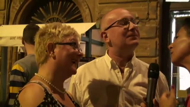 Agostino e Savina : unire l'utile al dilettevole!